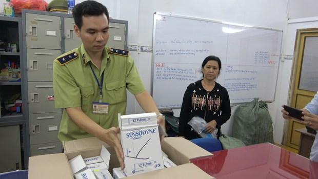 Thu nhieu san pham nghi lam gia tren dia ban Thanh pho Ho Chi Minh hinh anh 1