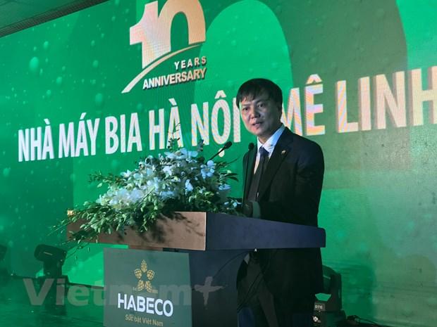 Bia Ha Noi-Me Linh: Tien phong trong dinh huong phat trien ben vung hinh anh 2