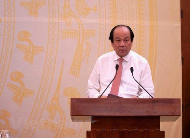 Bo truong Mai Tien Dung: GDP cao nhat 9 nam, lam phat rat thap hinh anh 1