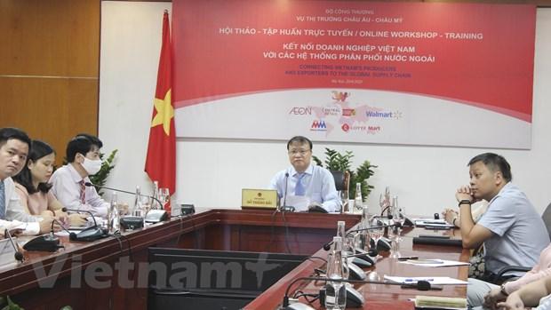 Tang ''phu song'' hang Viet tai he thong cac nha ban le nuoc ngoai hinh anh 2
