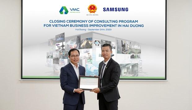 VMC tang 2 bac trong chuong trinh tu van cai tien cua Samsung hinh anh 1