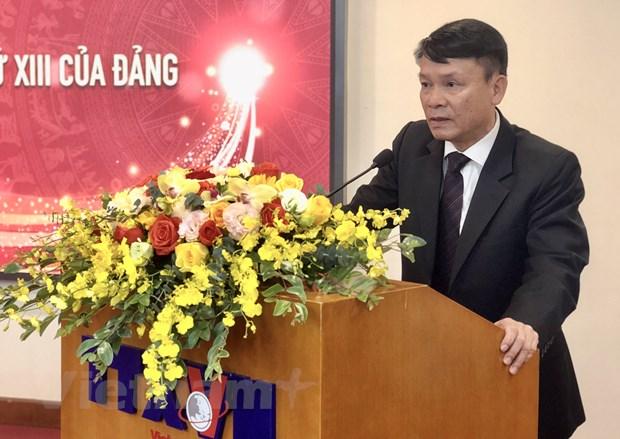 TTXVN ra mat trang thong tin dac biet ve Dai hoi Dang lan thu XIII hinh anh 3