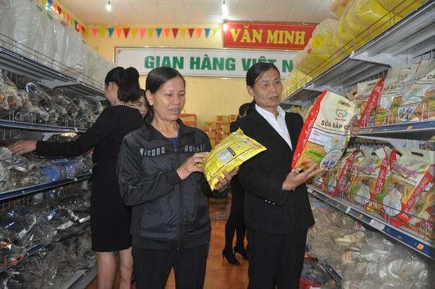 Phien cho Viet dip Tet: Gan ket nguoi tieu dung voi doanh nghiep hinh anh 1