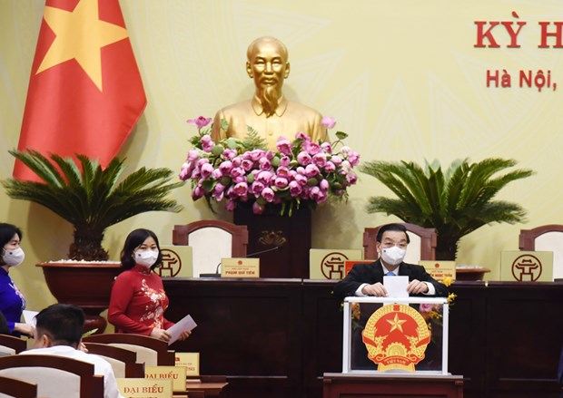 Ong Chu Ngoc Anh tai dac cu chuc Chu tich UBND thanh pho Ha Noi hinh anh 1