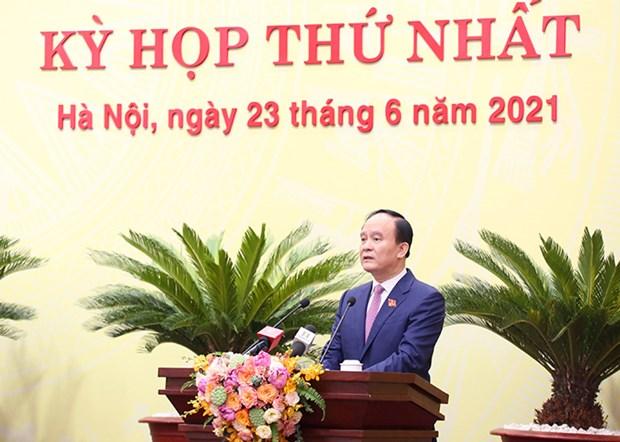 Ong Nguyen Ngoc Tuan duoc bau lam Chu tich HDND thanh pho Ha Noi hinh anh 1