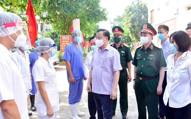 Thanh pho Ha Noi: Nang muc nguy co, chuan bi cac kich ban ung pho dich hinh anh 2