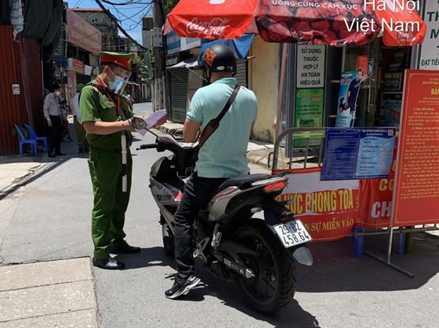 Cong an Ha Noi thong tin chinh thuc viec cap Giay di duong tai vung 1 hinh anh 2