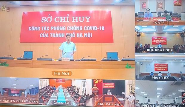 Ha Noi: Vung 2, 3 co the san xuat-kinh doanh an toan theo Chi thi 15 hinh anh 1