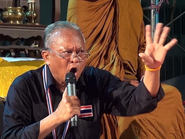 Thu linh phe bieu tinh Thai the ngan chan tong tuyen cu hinh anh 1