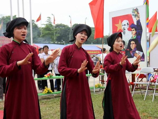 165 ty dong de bao ton lan dieu hat Xoan Phu Tho hinh anh 1