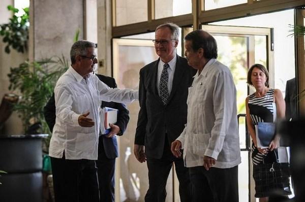 Cuba va EU bat dau vong 3 dam phan ve thoa thuan chinh tri hinh anh 1