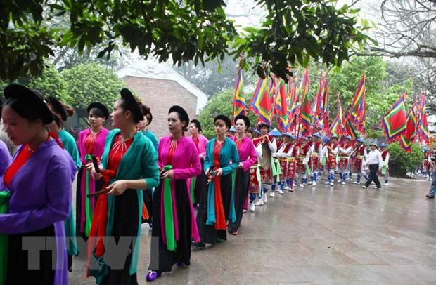 Gio To Hung Vuong-Le hoi Den Hung dien ra trong 6 ngay hinh anh 1