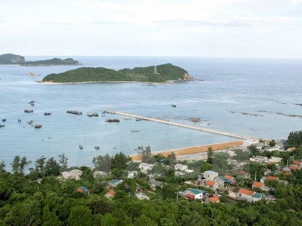 Một góc thị trấn Cô Tô