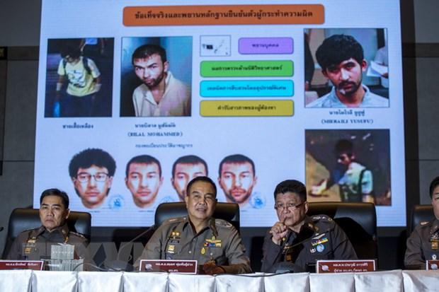 Malaysia truy tim them 3 nghi pham trong vu danh bom o Thai Lan hinh anh 1