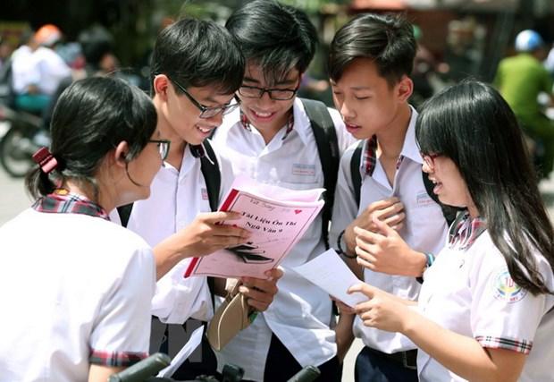 TP. Ho Chi Minh: De thi tuyen sinh vao lop 10 vua suc hoc sinh hinh anh 1