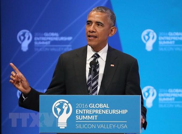 Tong thong My Obama lo ngai ve tinh trang hon loan qua do sau Brexit hinh anh 1