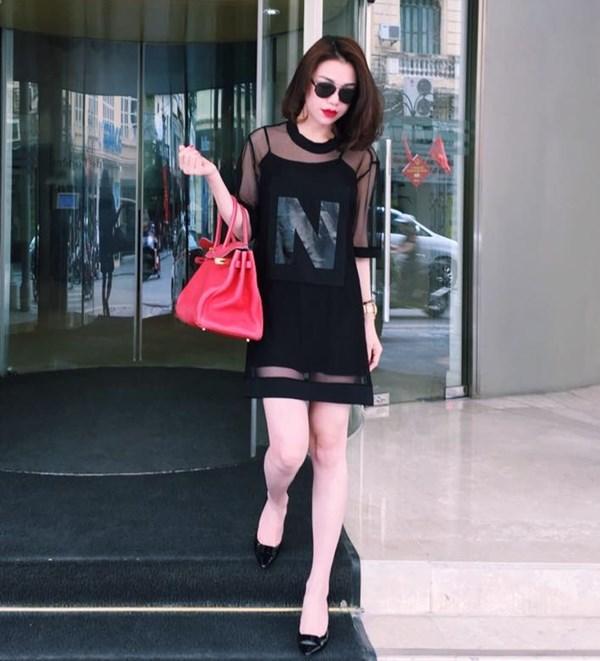 Ho Ngoc Ha dien do dang cap, Hoang Thuy Linh quyen ru hut hon hinh anh 10