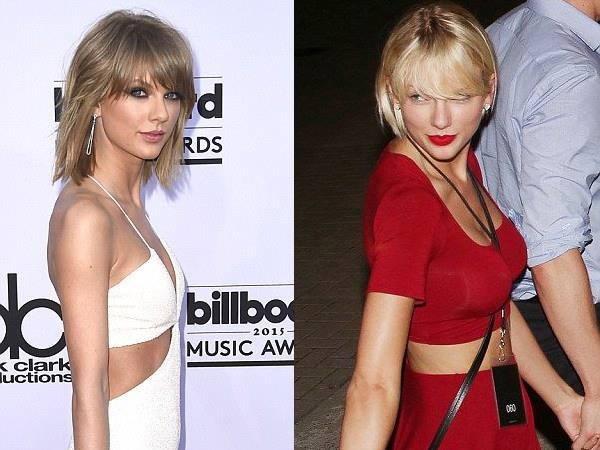Taylor Swift dinh nghi van nang nguc vi vong mot day da hinh anh 1