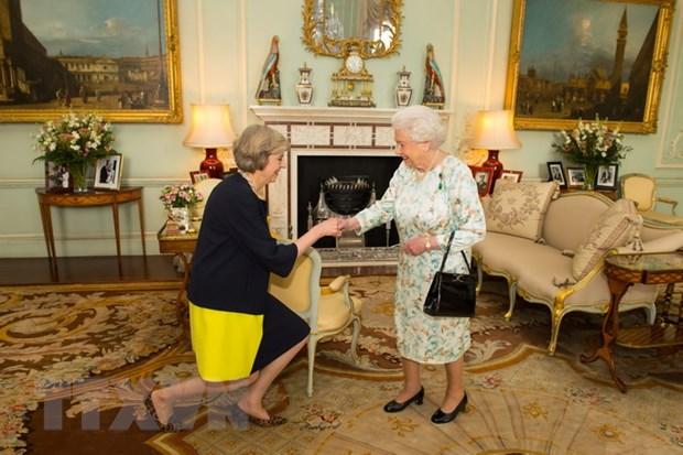 Tan Thu tuong Anh Theresa May cong bo danh sach noi cac moi hinh anh 1