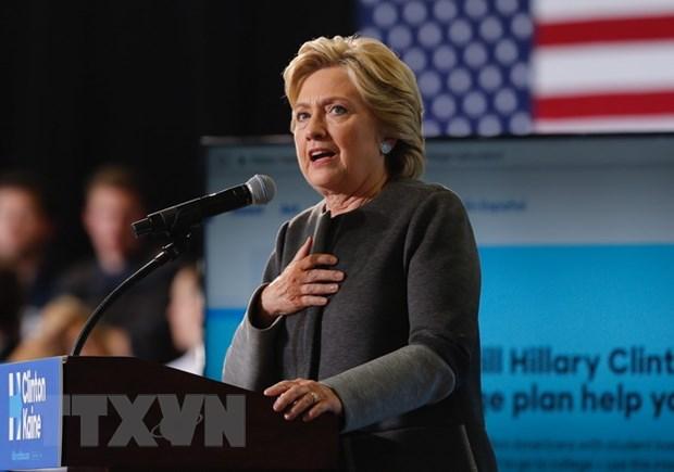 Quy van dong tranh cu cua ba Hillary Clinton dat so tien ky luc hinh anh 1