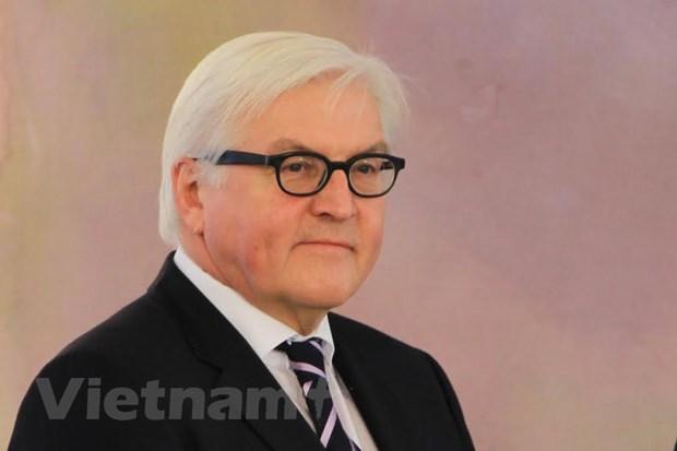 Bo truong Ngoai giao Steinmeier danh gia cao quan he Viet Nam-Duc hinh anh 1