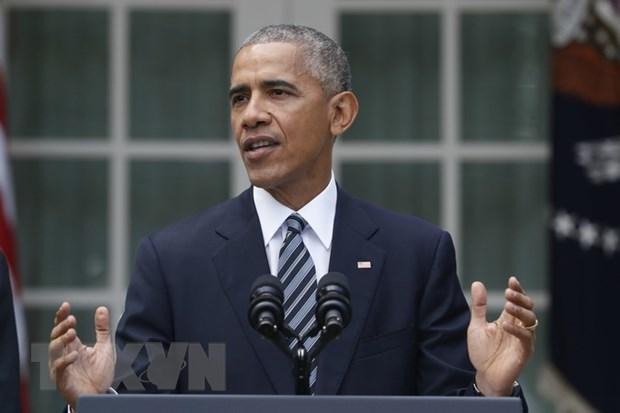Tong thong My Barack Obama thuc giuc giam no cho Hy Lap hinh anh 1