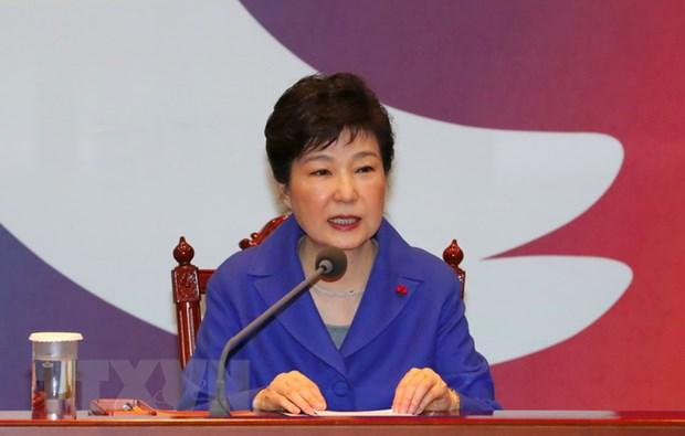 Ba Park Geun-Hye bac bo viec dinh liu toi be boi tham nhung hinh anh 1