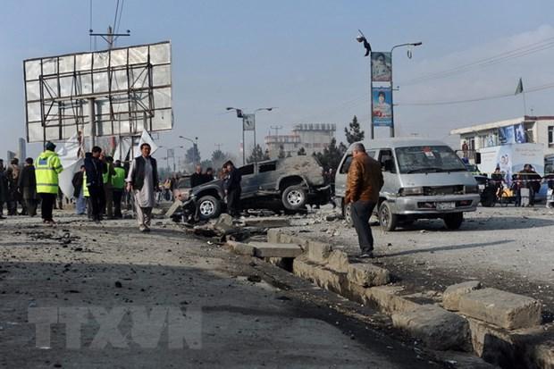 Xa sung tai mien Bac Afghanistan, 16 nguoi thuong vong hinh anh 1