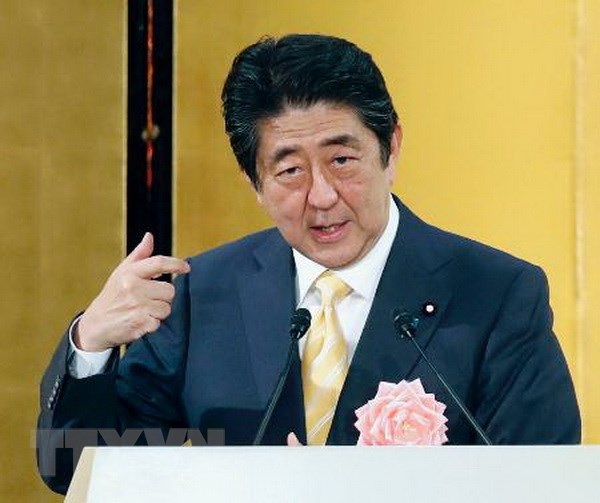 Thu tuong Nhat Ban Shinzo Abe len ke hoach tham Nga hinh anh 1