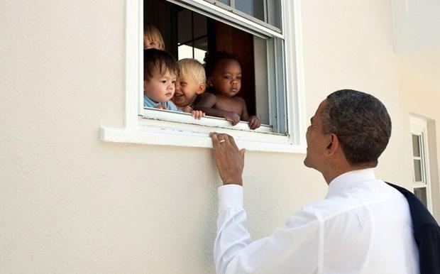 30 khoanh khac dac biet trong gan 2 trieu buc anh cua ong Barack Obama hinh anh 30