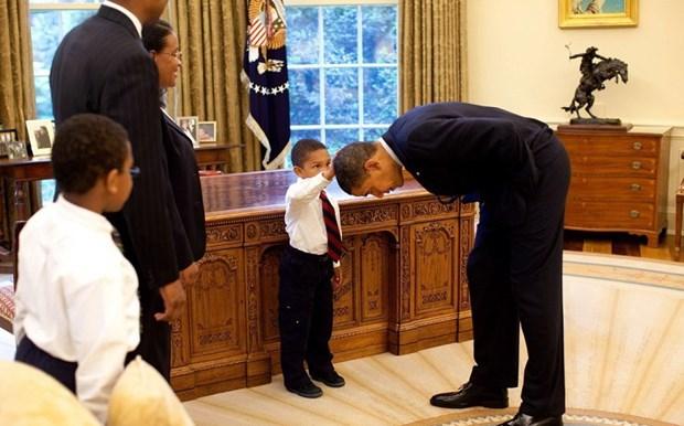 30 khoanh khac dac biet trong gan 2 trieu buc anh cua ong Barack Obama hinh anh 29