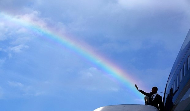 30 khoanh khac dac biet trong gan 2 trieu buc anh cua ong Barack Obama hinh anh 27
