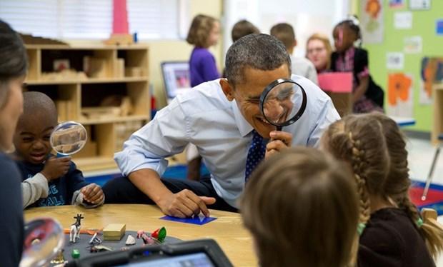 30 khoanh khac dac biet trong gan 2 trieu buc anh cua ong Barack Obama hinh anh 26
