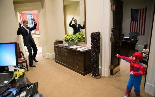 30 khoanh khac dac biet trong gan 2 trieu buc anh cua ong Barack Obama hinh anh 23