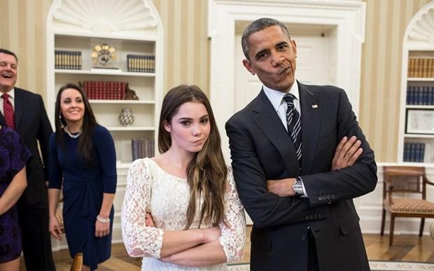 30 khoanh khac dac biet trong gan 2 trieu buc anh cua ong Barack Obama hinh anh 20