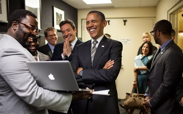 30 khoanh khac dac biet trong gan 2 trieu buc anh cua ong Barack Obama hinh anh 8