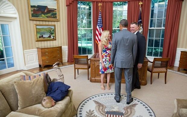 30 khoanh khac dac biet trong gan 2 trieu buc anh cua ong Barack Obama hinh anh 1