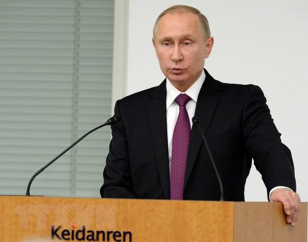 Ong Putin len tieng ve viec ong Trump tiep xuc voi gai mai dam Nga hinh anh 1