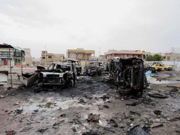Danh bom lieu chet o thu do Baghdad, 23 nguoi thiet mang hinh anh 1