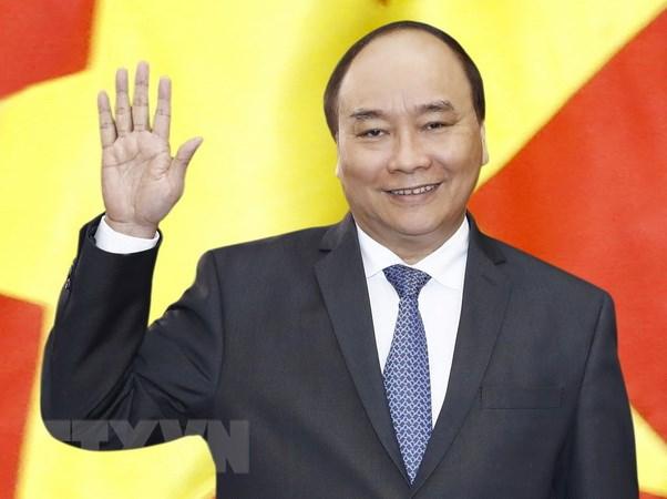 Thu tuong Nguyen Xuan Phuc tra loi phong van bao chi Nhat Ban hinh anh 1