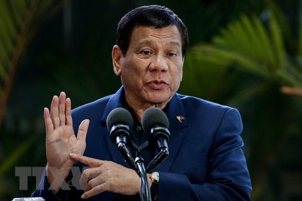 Tong thong Duterte: IS khong phai thu pham tan cong song bai o Manila hinh anh 1