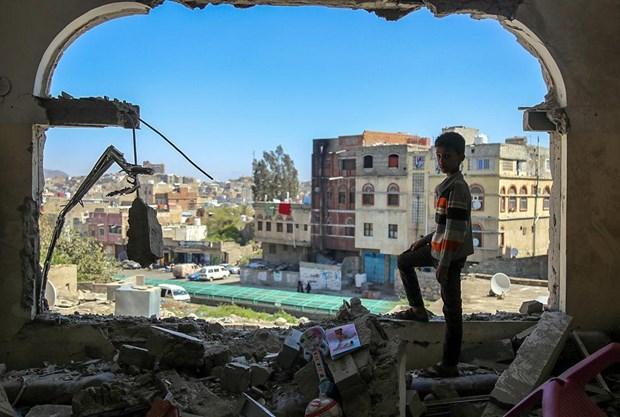 Saudi Arabia su dung bom do Anh san xuat trong cuoc tan cong o Yemen hinh anh 1