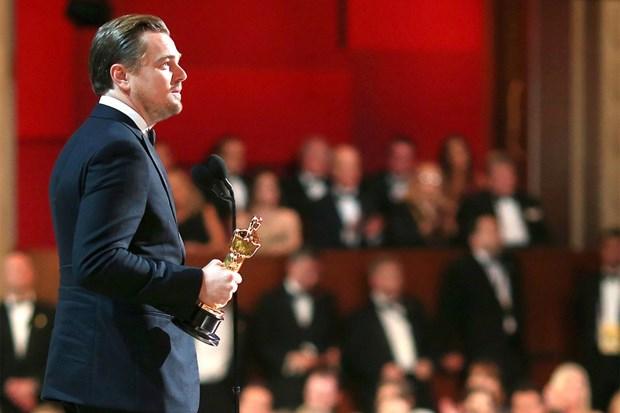 Nha san xuat bi to rua tien, Leonardo DiCaprio tra tuong vang Oscar hinh anh 1