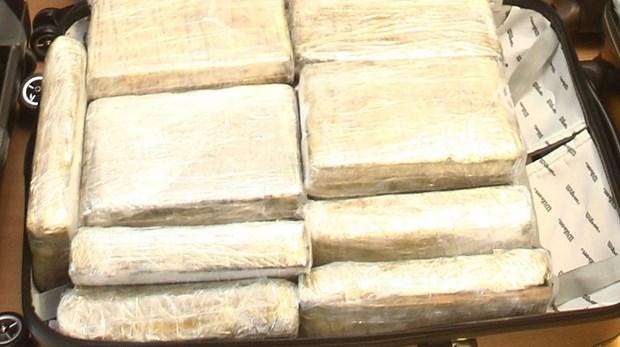Canh sat Argentina thu giu 2 tan cocaine tri gia 60 trieu USD hinh anh 1
