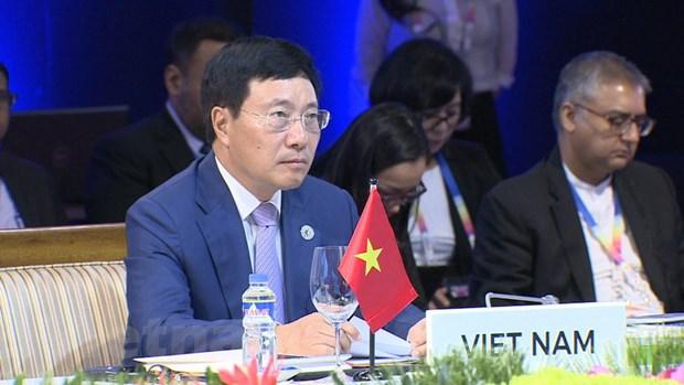 Viet Nam tham du Hoi nghi Bo truong Ngoai giao ASEAN lan thu 50 hinh anh 2