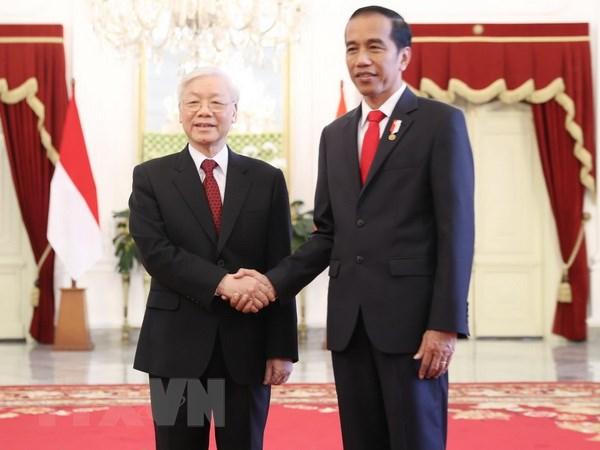 Viet Nam va Indonesia ky ket mot loat van kien hop tac hinh anh 1