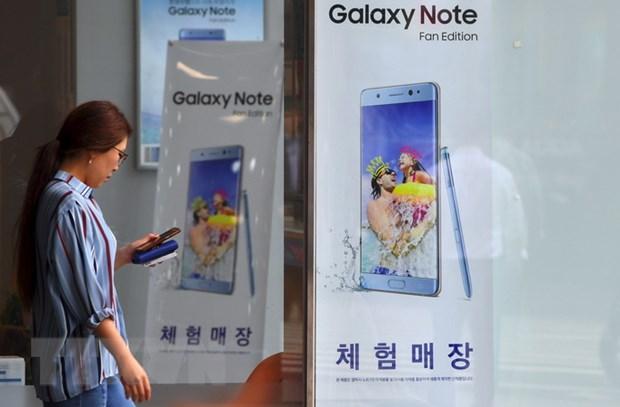Samsung giu vung