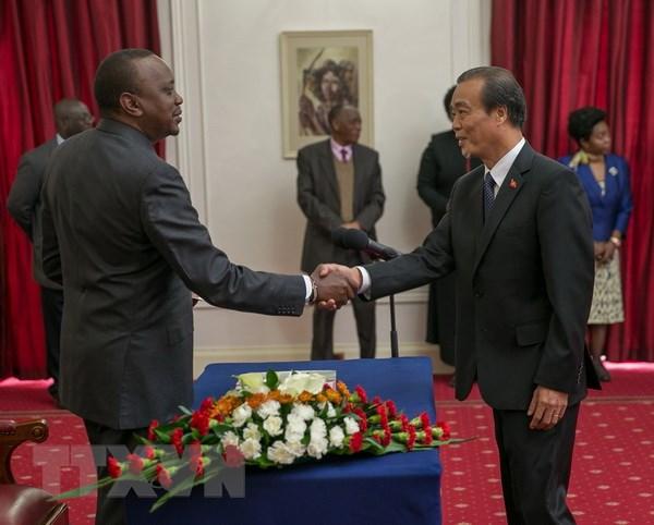 Kenya mong muon tang cuong quan he hop tac voi Viet Nam hinh anh 1
