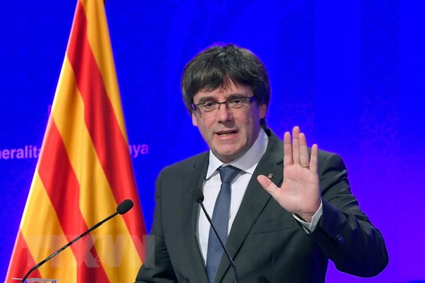 Chinh quyen Catalonia lui phien hop du kien tuyen bo doc lap hinh anh 1
