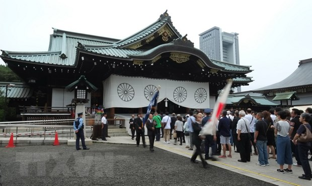 Han Quoc quan ngai ve viec Thu tuong Abe gui do le toi den Yasukuni hinh anh 1